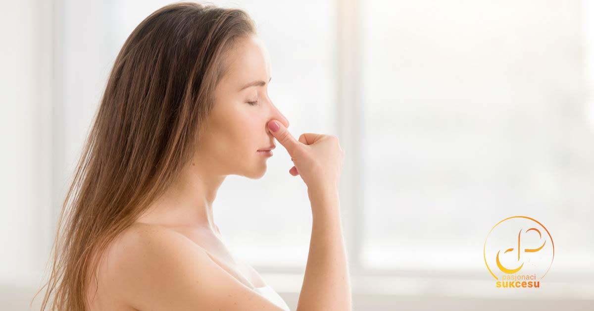Świadome oddychanie - powoli i przez nos