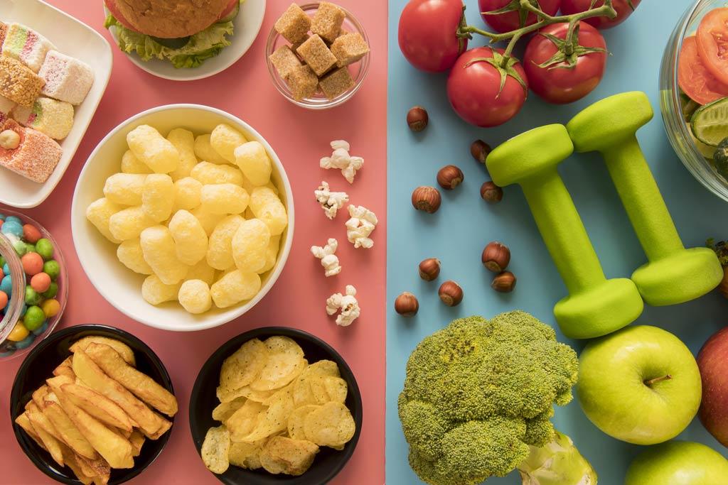 brzuch bez oponki właściwe odżywianie