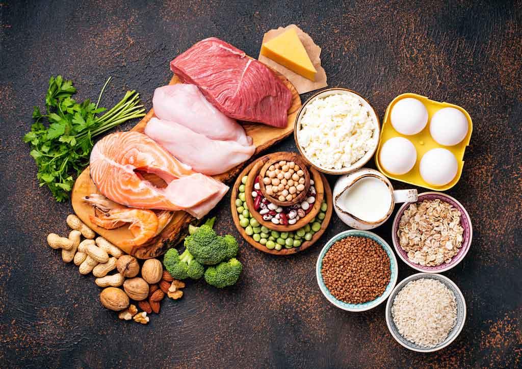 schudnąć bez liczenia kalorii - jedz białko